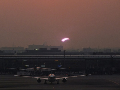 141230haneda_sunset8_1710